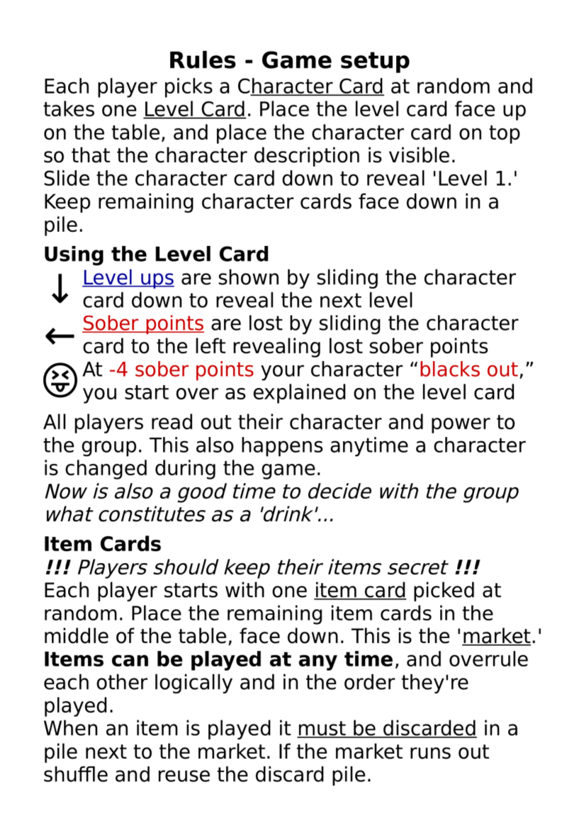 BaRPG Rules Card Side 2 Example